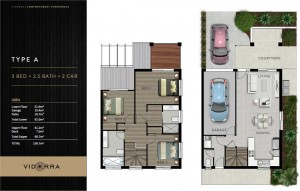 Vidorra floor plan - Type A
