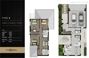 Vidorra floor plan - Type B