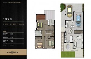 Vidorra floor plan - Type C
