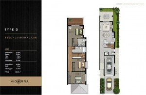 Vidorra floor plan - Type D